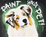 Paint YOUR or YOUR Sweetheart's Pet!