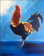*NEW!* Cayman Rooster (Artist Lu's Pick!)