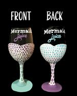 Mermaid Juice Glassware Set $35