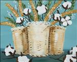 Rustic Cotton Baskets
