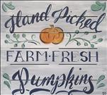 Farm Fresh Pumpkins Pallet