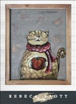 Rebeca Flott Arts - Cozy Cat