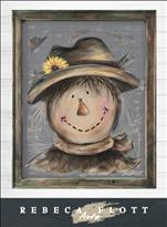 Rebeca Flott Arts - Scarecrow Joe!