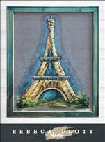 Rebecca Flott Screen Art - Eiffel Tower