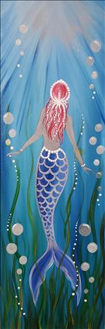 MERMAID RISING(10x30)*Public Family Event*