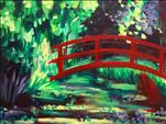 MASTERPIECE SERIES: Monet's Red Bridge