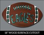 Fan Football Cutout $25
