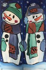 Patchwork Snow Buddies, Pick a side