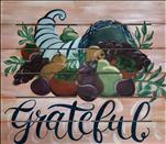 *Wood Art!* Grateful Cornucopia Pallet