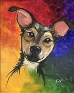 Rainbow Paint Your Pet
