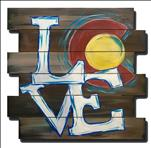 LateNight! Rustic Colorado Love Pallet Art