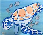 HAPPY HOUR - Playful Turtle (ONLY $25!)