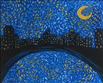 Kids Starry Night Over Austin