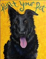 PAINT YOUR PET! (16x20 or 12x12 canvas)