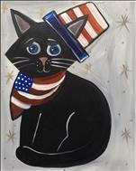 FAMILY FUN - Patriotic Cat