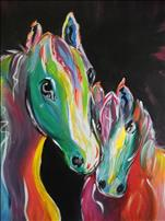 Manic Monday $10 off Special- Rainbo Horses!