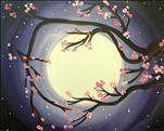 Moonlit Cherry Blossoms