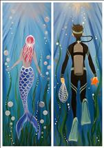 MERMAID AND HER MAN SET(10X30)**Public Event**