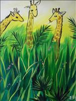 "Kids Camp Art Day 3 - ""Giraffes at Audubon Zoo"""
