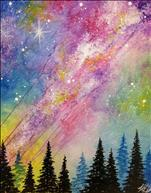 *Family Paint Night* Rainbow Galaxy