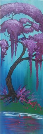 NEW! - Flowering Lavender Willow - LONG CANVAS