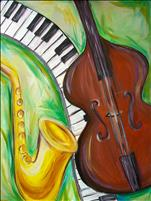 Jazz Trio *Dallas Summer Musical Partner Painting*