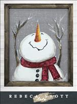 Rebeca Flott Arts - Happy Snowflakes