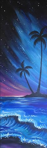 *10x30 Canvas* Night in Maui