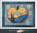 Rebeca Flott Arts - Pumpkin Starry Night