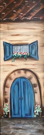 Old Cottage Door *10x30 Canvas*