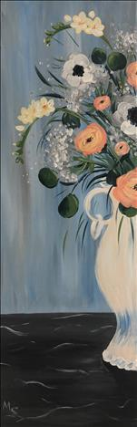 *10x30in CANVAS* Cassidy's Bouquet