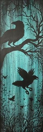 "Looong 10""x30"" Canvas! Nevermore"