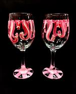 Cancer Awareness- Choose Your Color! Glassware Set