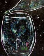 Galaxy Pour in the City