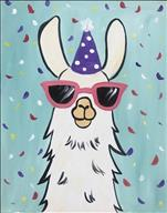 Party Llama - Family Paint Night - ALL AGES!