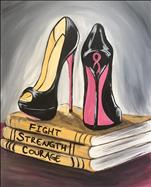 Breast Cancer Awareness! I'm Powerful in My Pumps!