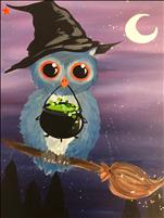 Wicked Owlivia 16X20 NEW ART! FAMILY DAY 8+