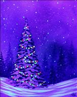 A Bright Christmas | Blacklight Paint pARTy!