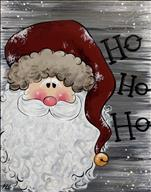 Always Jolly Rustic Santa!