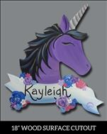 Midnight Unicorn Cutout