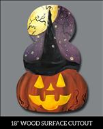 Magical Jack-o'-Lantern Cutout