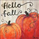 Hello Fall-FUN Rustic Art tonight! 18+
