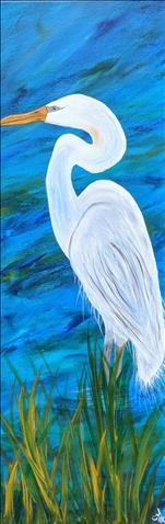 KIDS CAMP- ANIMAL THEME: Egret