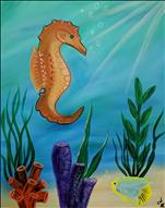NEW ART ALERT: Seahorse Under the Sea