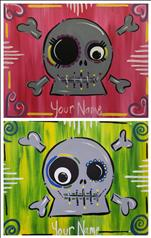 Silly Sugar Skulls- Set