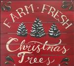 Farm Fresh Christmas Trees Pallet
