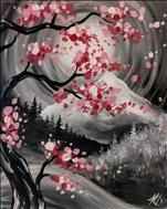 Manic Monday - Cherry Blossom Mountains - $10 Off