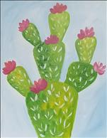 *Cookies and Canvas* Cute Little Cactus