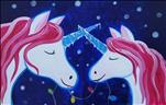Snowy Mommy/Daddy and Me Unicorn - ALL AGES!