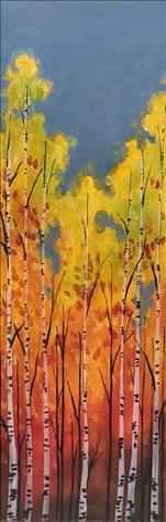 "Autumn Colors (10""x30)"